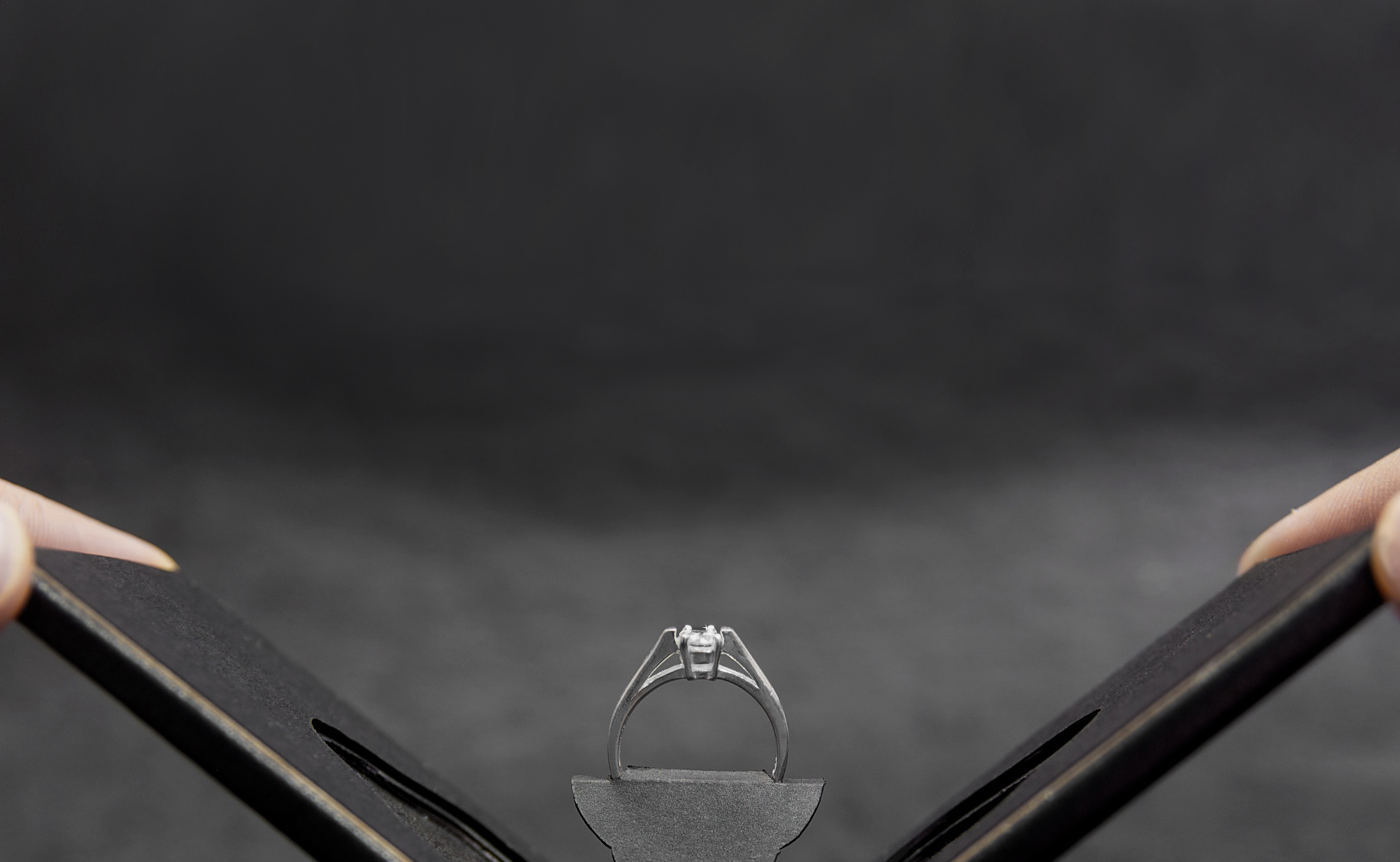 Clifton Slim Engagement Ring Case